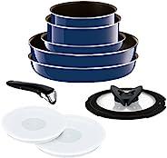 T-fal Grand Blue Premier 系列厨具 グランブルー フライパン 鍋 10点 セット