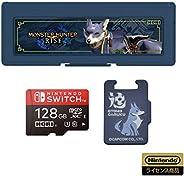 【任天堂许可商品】怪物猎人 microSD卡128GB+卡盒6 for Nintendo Switch【适用于任天堂Switch】