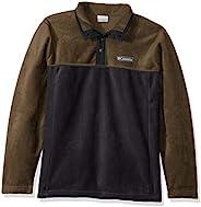 Columbia Men's Steens Mountain 1/2 Snap Fleece Pullover, Winter Jacket