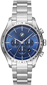 BMW 宝马男式三指针不锈钢石英手表