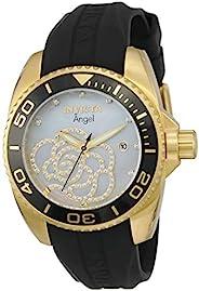 Invicta 0489 Angel 女士手表 不锈钢 石英 镀铂金表盘