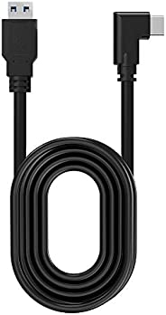 Quest Link 电缆 16 英尺(5 米),兼容 Quest 2 / Quest 1 类型 A 到 C 5Gbps 高速数据传输充电线