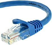 Mediabridge 以太网电缆(100 英尺) - 支持 Cat6 / Cat5e / Cat5 标准,550MHz,10Gbps - RJ45 计算机网络电缆(部件号 31-399-100X)