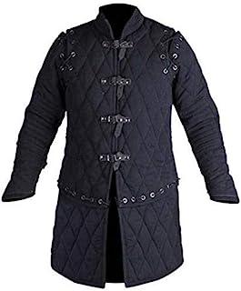 The Medievals 加厚全袖 Gambeson 外套 Aketon 夹克盔甲,棉质面料