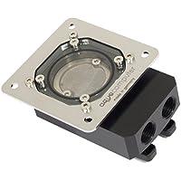 Aquacom G1/4英寸(约0.6厘米)过滤器带不锈钢网,球阀和安装板