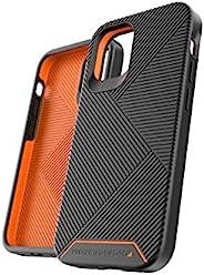 Gear4 Battersea 精裝手機殼,先進的沖擊保護 [ 由 D3O 保護] 加固背部保護,超薄設計 - 適用于 iPhone 12 Mini - 黑色