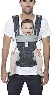 Ergobaby 360 全位置婴儿背带,腰部支撑,适合12-45磅(约5.44-20.41千克),星空灰