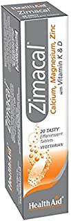 Healthaid zimacal – 高效 – 20 片装