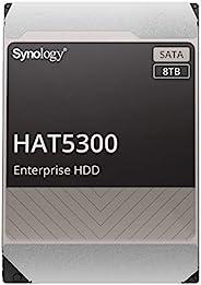 "Synology HAT5300-8T [8TB 3.5"" SATA 7,200rpm / 企业级HDD(MTTF250万小时) / Synoloyg NAS* / 5年保修] 国内正规"