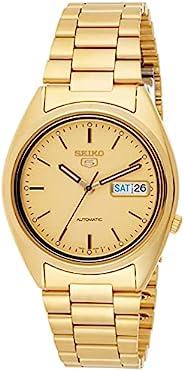 Seiko 精工 5 男士手表 不锈钢 带金属表带