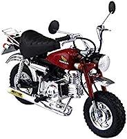 青岛文化教材社 1/12 摩托车系列 No.24 本田 Monkey 定制 武川规格Ver.2 塑料模型