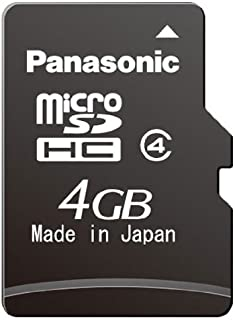 Panasonic rp-smgfe1 K Micro SDHC Memory Card, Class 4, Transfer Speed 10MB/s