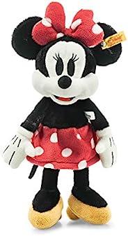 Disney Soft Cuddly Friends 米妮老鼠 12 英寸,高级填充动物