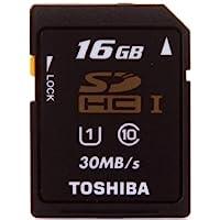 TOSHIBA 东芝 高速SDHC存储卡 16GB(Class10) UHS-E/M 读写高速 30M/s