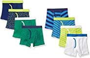 Amazon Essentials 男孩 8 条装大平角内裤