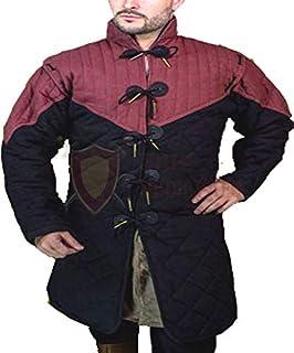 中世纪厚加厚全袖 Gambeson 外套 Aketon 夹克盔甲