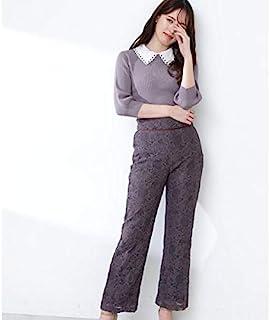 JILL by JILLSTUART 直筒蕾丝裤