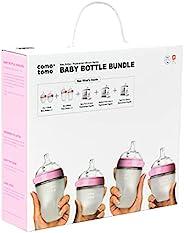 COMOTOMO 可么多么 婴儿奶瓶套装,粉色