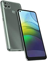 Moto G9 Power (128GB,4GB)6.8 英寸HD+,Snapdragon 662,6000mAh 电池,双 SIM GSM 全球无锁 4G LTE(T-Mobile,AT&T,Metro)国际型