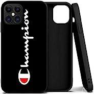 Champion Carcasa para iPhone 12 Pro Max, Suave TPU, Flexible Piel Fina, proteccion iPhone 12 (5.4-6.1-6.7 OLED
