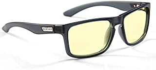 GUNNAR Intercept INT-06701 防蓝光电脑护目平光眼镜 烟灰黑色镜框琥珀色镜片