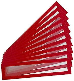 Tarifold Es 195213 10 个磁性相框 A4 / A3 (55 x 297 毫米) Magnet Pro 磁性白板 颜色 红色