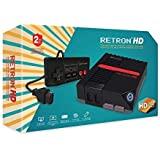 Hyperkin RetroN 1 高清游戏机适用于 NES (黑色)