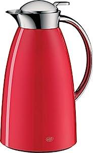 alfi Gusto 真空保溫壺 金屬清漆玻璃保溫/保冷壺 1.0升 Red