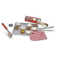 Melissa&Doug 美丽莎和豆豆 DIY过家家木质玩具 可切烘焙点心套装