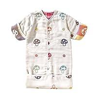 Hoppetta 小蘑菇 寶寶6層透氣紗布 嬰兒包 睡袋 寶寶