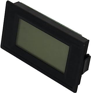 Heyiarbeit 直流电压表 YB5135D 数字黑色文字 LED 数字伏电压表 4 根电线连接用于直流电压测量 1 件