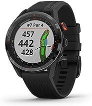 GARMIN 佳明 Approach S62 高级高尔夫GPS手表,内置虚拟购物车,地图和全彩屏,黑色(010-02200-00)