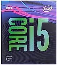 Intel 英特尔 Core™i5-9400F台式机处理器6核4.1 GHz Turbo,无显卡