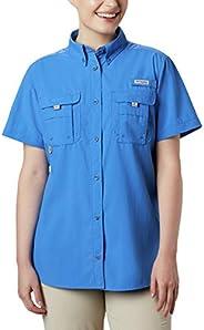 Columbia 女士 PFG Bahama II 短袖透气钓鱼衬衫