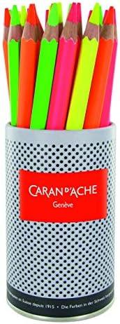 CREATIVE ART 材料 Caran D'ache 色块拼色铅笔 Fluo 黄色 (491.