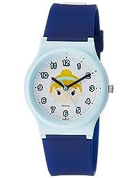 [西鐵城 Q&Q]CITIZEN Q&Q 手表 迪士尼 收藏 TSUMTSUM 灰姑娘 聚氨酯表帶 藍色 HW00-010 女孩