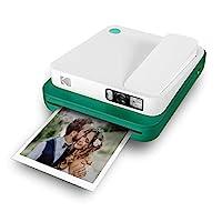 KODAK Smile 经典即时数码照相机 + 蓝牙 16MP 35 个打印/充电 – 入门装 3.5 x 4.25 英寸锌纸 贴纸-帧-版RODCLASAMZGN  Sofortbilddigitalkamera Kamera *