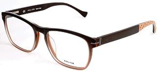 Police 中性成人眼镜架 VPL065M,多色,52