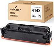 SAILNER NO CHIP 兼容硒鼓替换件适用于 HP 414X W2020X 与Color Laserjet Pro MFP-M479fdw M454dw MFP-479fdn M454dn MFP-M479dw(
