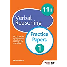 11+ Verbal Reasoning Practice Papers 1: For 11+, pre-test and independent school exams including CEM, GL and ISEB (GP) (English Edition)