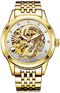 升龙镂空骷髅手表 白色