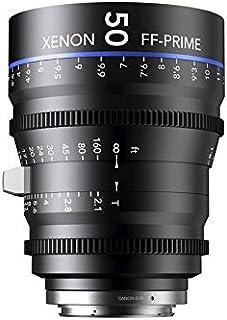 Schneider-Kreuznach 1078473 Cine 镜头,FF-Prime T2.1/50毫米,佳能/米,黑色