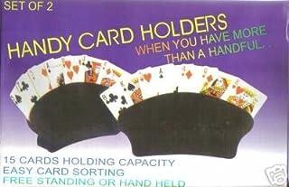 方便的卡片夹,2 个装,15 个卡片容量,黑色