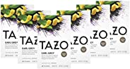 Tazo Black Tea Tea Bags For a Delicious Beverage Earl Grey High Caffeine Level 20 Tea Bags 6Ct