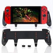 满意 - New SwitchGrip,配件兼容任天堂 Switch - 舒适符合人体工程学的开关手柄,Joy Con & 开关控制。 #1 专为游戏玩家设计的开关配件。 附赠:2