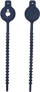 Airtag 自行车支架,自行车气标签支架保护套,易于安装在自行车座下方 Airtag 安装硅胶Airtag 保护套保护套适用于滑板车帐篷摩托车山地自行车(深蓝色)