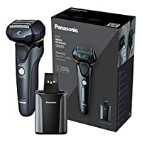 Panasonic 松下電器 ES-LV97 干濕兩刀片電動剃須刀 帶充電支架 2針插孔