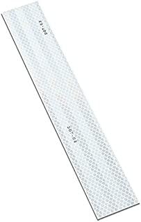 3M 963-326 5.08 厘米 X 30.48 厘米 - 25.40 厘米 963-326 灵活棱镜点标记,5.08 厘米宽,30.48 厘米长,红色/白色(10 件装)