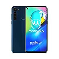 Motorola 摩托罗拉 G8 power 手机  解锁 仅国际GSM   4 / 64GB   13MP相机  2020   蓝色