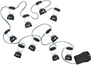Coleman LED 串灯,黑色,10 个 LED 灯笼